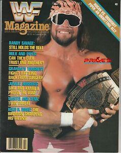 WWF Wrestling Magazine February/March 1987 Macho Man Randy Savage Kamala Sika