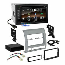 Kenwood DVD USB Bluetooth Car Stereo Dash Kit Harness for 2005-11 Toyota Tacoma