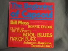The Beginning Of Capsoul LP Record SEALED OHIO Bill Moss Kool Blues Marion Black