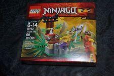 LEGO NINJAGO MASTERS OF SPINJITZU JUNGLE TRAP 70752 SEALED