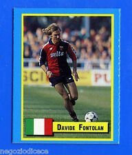 TOP MICRO CARDS - Vallardi 1989 - Figurina-Sticker - FONTOLAN - GENOA