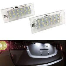 ECLAIRAGE PLAQUE LED BMW X5 E53 5/2000-1/2007 X3 E83 10/2003-3/2010 BLANC XENON