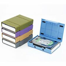 """SISUN 3.5 Inch Hard Drive Protection case 3.5"""" HDD Storage (Five colors)"""