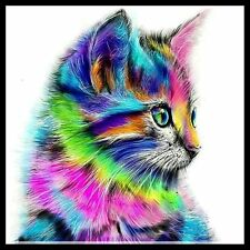 Beautiful Cat Kitten DIY Diamond Painting Mosaic Kit Picture