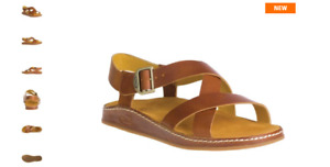 Chaco Wayfarer Ochre Leather Ankle Strap Comfort Sandal Women's sizes 5-12 NEW!!