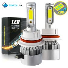Syneticusa 9007/HB5 CREE LED 6000K White Headlight Light Bulb Kit High/Low Beam