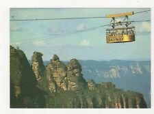Scenic Skyway With The Three Sisters Australia 1991 Postcard 932a