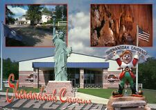 Shenandoah Caverns Virginia Valley, Museum Pixie Statue of Liberty VA - Postcard