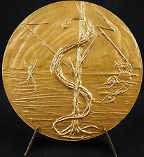 Médaille Roger Courroy Moïse & les tables de la loi le Serpent d'airain medal