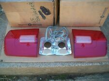 NOS MoPar 1968 Plymouth Road Runner Satellite GTX Pair of Tail Light Lenses