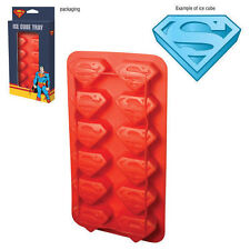 SUPERMAN - ICE CUBE TRAY - BRAND NEW - DC COMICS SHIELD LOGO 07401