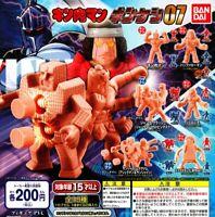 Kinnikuman Kinkeshi 07 color random set All 6 set Gashapon mascot toys
