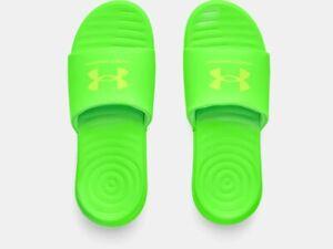 Under Armour Men's UA Ansa Fixed Strap Slides Sandals Many Sizes, Many Colors