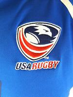 USA Rugby Union Shirt Jersey Size Medium 2011 Canterbury B22