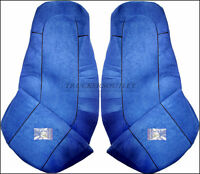 VOLVO FH3 TRUCK SEAT COVERS  BLUE  [TRUCK PARTS & ACCESSORIES]
