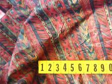 Cotton Abstract Multi-coloured Stripe Design 140cm Wide - as shown - New by Dcf