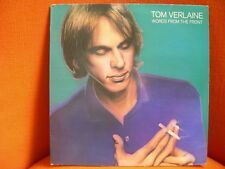 VINYL 33T – TOM VERLAINE : WORDS FROM FRONT – TELEVISION US POST PUNK NEW WAVE