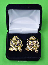USMC Marine Corps Running DI Bulldog Cuff Links in Gift Box - Drill Instructor