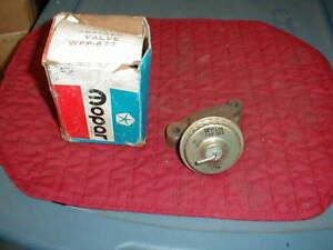 NOS MOPAR 1973 B & C BODY 400 CI EGR VALVE