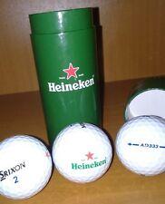 ★HEINEKEN ★ Set 3x Balles de Golf SRIXON 2 - AD333