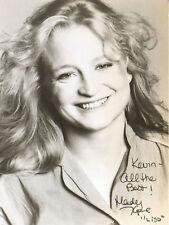 Mady Kaplan - Actress - The Deer Hunter / Heaven's Gate - Autograph Photo