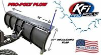 "KFI 72"" UTV Poly Blade Snow Plow Kit for 2008-2013 Yamaha Rhino 700"