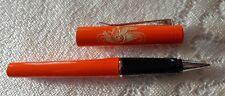 Rollerball Farbe : orange  ( mit Schwahn gravuar )