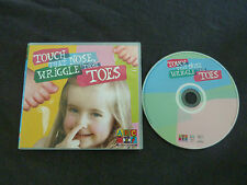 TOUCH THAT NOSE WRIGGLE THOSE TOES RARE AUSSIE CD! ABC TV ABC FOR KIDS