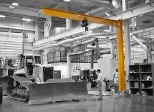 Gorbel Full Cantilever Jib Crane 2 Ton Capacity Span 10 Ft Oah 10 Ft