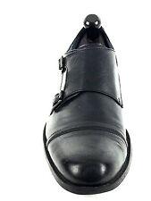 Steve Madden Men's Fashion Leather Loafers Dress Shoes Black  Size 12 USA.EU.45