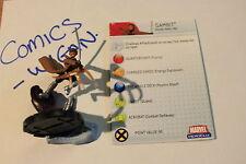 Marvel heroclix mutations & MONSTERS # 32 Gambit