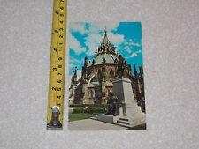Postcard Rare Vintage Parliament Hill Ottawa Canada