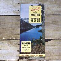 Vintage Brochure Southern Oregon Medford Rogue River Valley Travel Advertising