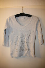 "Graues Shirt ""Deluxe Sporty and Smart"", 3/4 Arm, von Madonna, Gr. S"