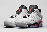 2015 Nike Air Jordan 6 VI Retro Low Infrared Size 13. 304401-123 1 2 3 4 5