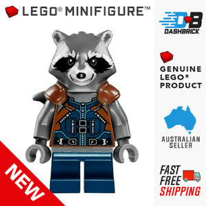 Genuine LEGO® Minifigures - Rocket Raccoon, Guardians, Avengers [MARVEL] - NEW