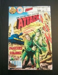 Our Fighting Forces in Action Attack #28 The Informer  Charlton Comics 1981 MIK
