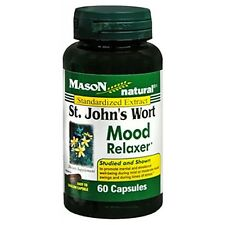Mason Natural St. John's Wort Mood Relaxer Capsules 60 ea