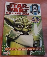 Star Wars Big Fun Book To Color The Clone Wars Duty and Honor New