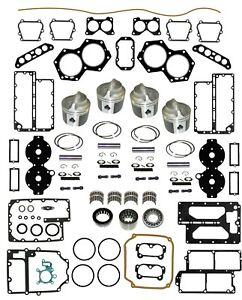 POWERHEAD REBUILD KIT Johnson Evinrude 88 90 100 112 115 140 HP V4 Crossflow