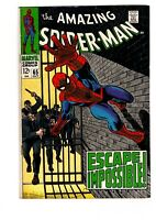 THE AMAZING SPIDER-MAN #65 (7.0) PRISON COVER!  FREE SHIPPING!