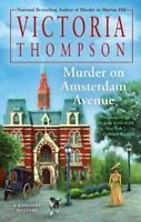 Murder on Amsterdam Avenue (A Gaslight Mystery) by Thompson, Victoria in Used -