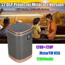 L2 Mirroring DLP Projector Miracast Version Home Theater Cinema Beamer 1280x720P