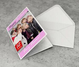 BTS Personalised Birthday Card Girls Daughter Niece Granddaughter Sister