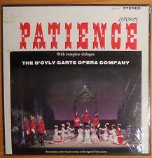 """PATIENCE"" GILBERT & SULLIVAN; D'OYLY CARTE; SEALED LONDON FFSS STEREO"