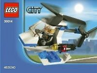 LEGO City  Police Helicopter Polybag Set 30014
