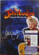 SIGNED THE MOODY BLUES JOHN LODGE AUTOGRAPHED TOUR BOOK PROGRAM JSA COA # V70002