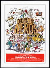 REVENGE OF THE NERDS__Original 1984 Trade AD promo / poster__ROBERT CARRADINE
