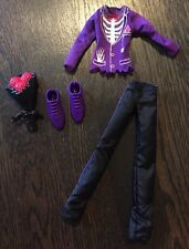 Monster High Doll Boy Clothing, Shoes & Accessories - Complete SloMo Prom Outfit