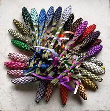 Real Lavender Wands Ten 10 Medium Size Assorted Colors Handmade in California